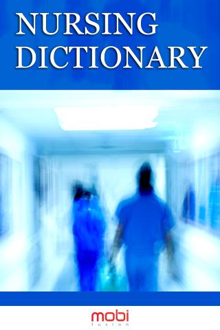 【免費書籍App】Dictionary of Nursing-APP點子