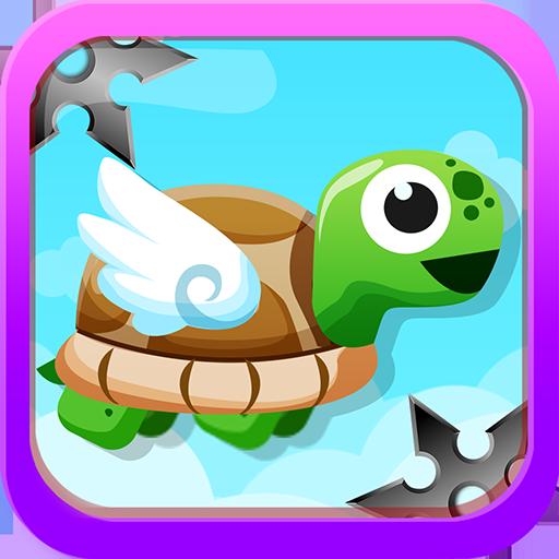 놀라운 거북이 메가 점프 -닌자 별을 터치하지 마십시오 街機 App LOGO-硬是要APP