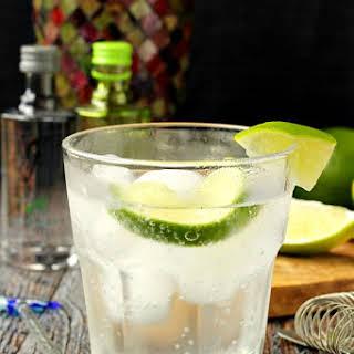 Gin Mojito Cocktail.