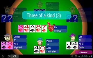 Screenshot of Offline Poker Texas Holdem
