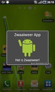 Zwaaiweer App- screenshot thumbnail