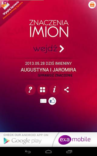 【免費生活App】Znaczenie Imion-APP點子