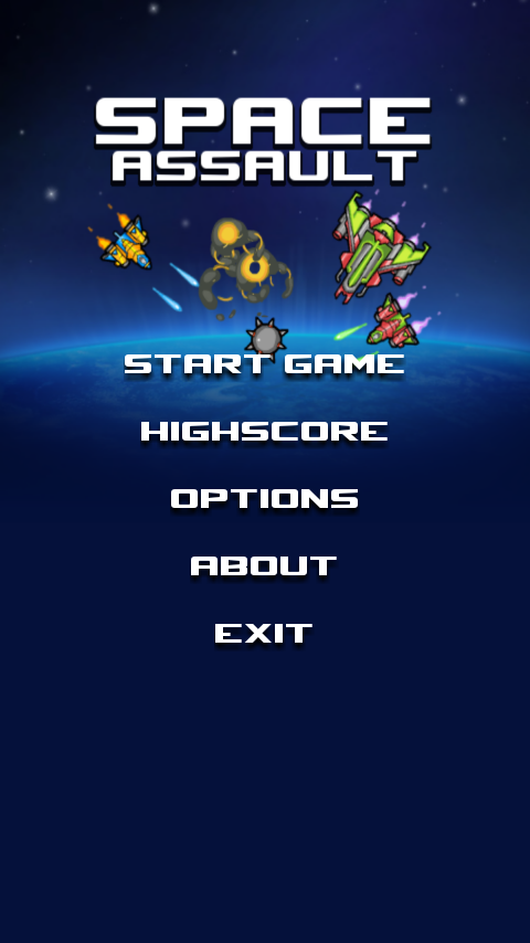 Space Assault Retro - screenshot