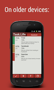Task:Life Performance Tracker - screenshot thumbnail