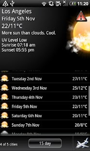 MyForecast - screenshot thumbnail