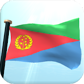 Eritrea Flag 3D Free Wallpaper