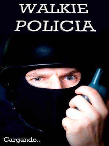 Walkie Policia