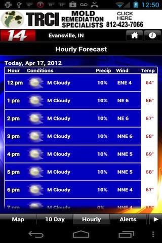 14FirstAlert Weather TriState - screenshot
