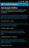 Screenshot of Acordo Ortográfico