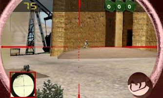 Screenshot of Sniper vs terrorism: oil war