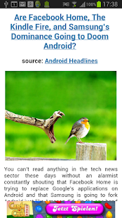 News on Android - screenshot thumbnail