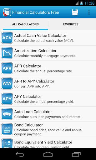 Financial Calculators Free