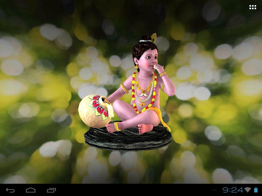 Download 3d Little Krishna Live Wallpaper Apk Latest Version App For