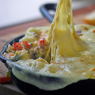 Philly Cheesesteak Dip #SundaySupper