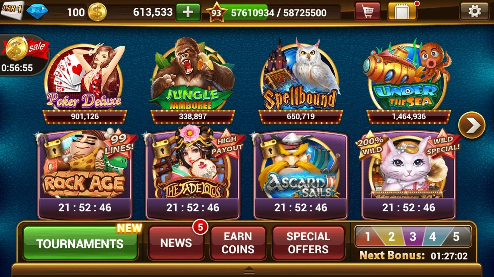 slots games for android