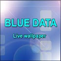 Blue Data Live wallpaper icon