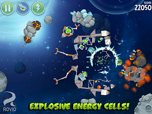 Angry Birds Space Premium Screenshot 18
