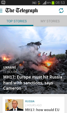 Telegraph Live News Mobile App 7.0.3 screenshot 389432