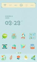 Screenshot of Paper Flower Dodol Theme
