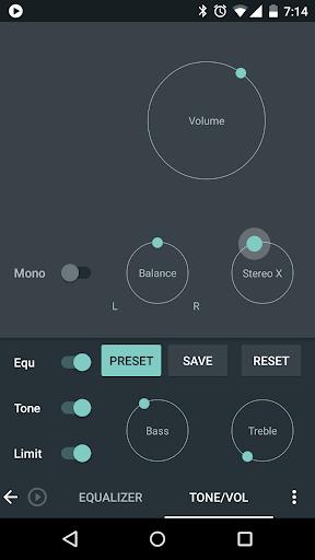 Skin for Poweramp Material  screenshots 3