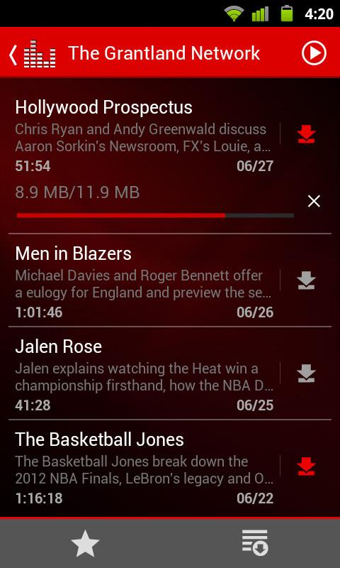 ESPN Radio screenshot #3