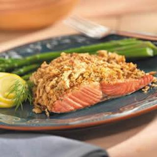 Crunchy Lemon-Dill Salmon