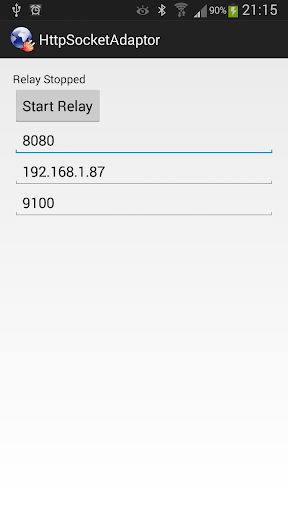 HTTP Socket Adaptor