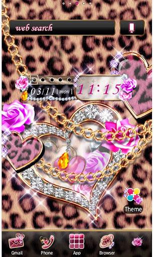 Leopard Hearts Wallpaper Theme 1.6 Windows u7528 1