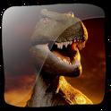 3D T. Rex Tyrannosaurus icon