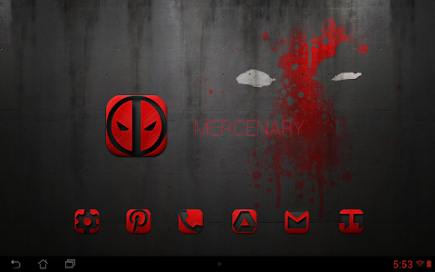 MERCENARY - Icon Pack v3.8