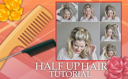 CUTE Half Up Hair Tutorials