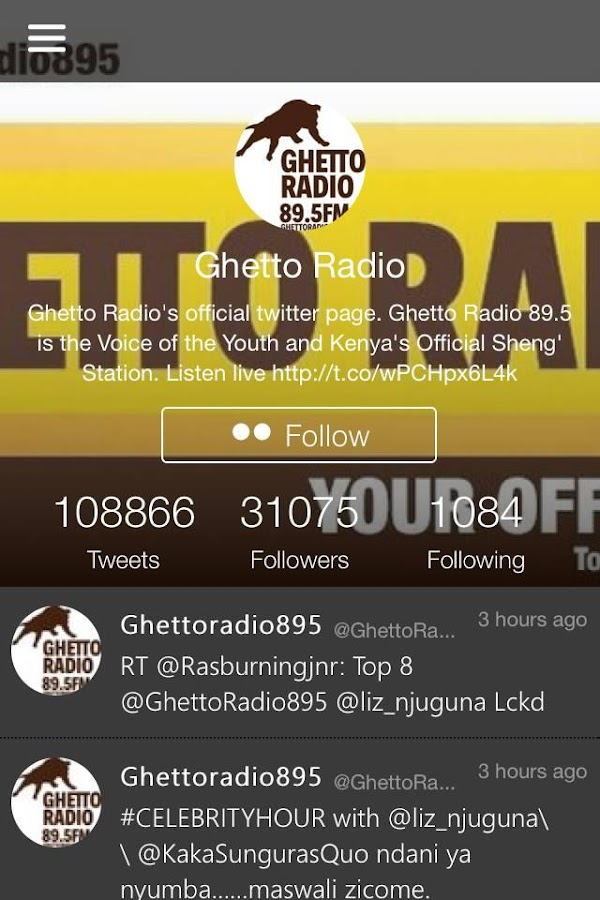 Ghetto Radio- screenshot