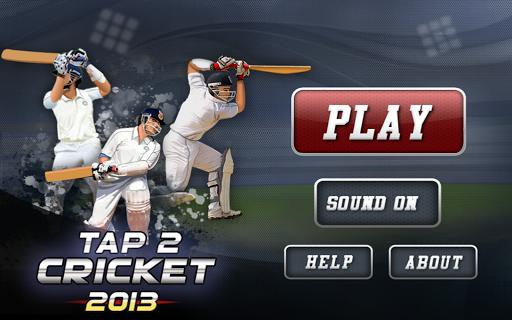 Tap Cricket 2013