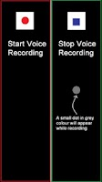 Screenshot of Hidden Voice Recorder
