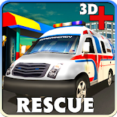 3D Ambulance Rescue Simulator Android APK Download Free By Smashing Geeks