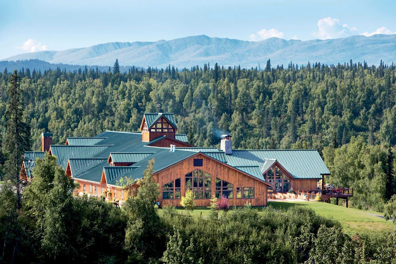 During a stay at Mt. McKinley Princess Wilderness Lodge, you can take in beautiful views of the Alaska Range. Book it as part of a pre- or post-cruise with Princess.