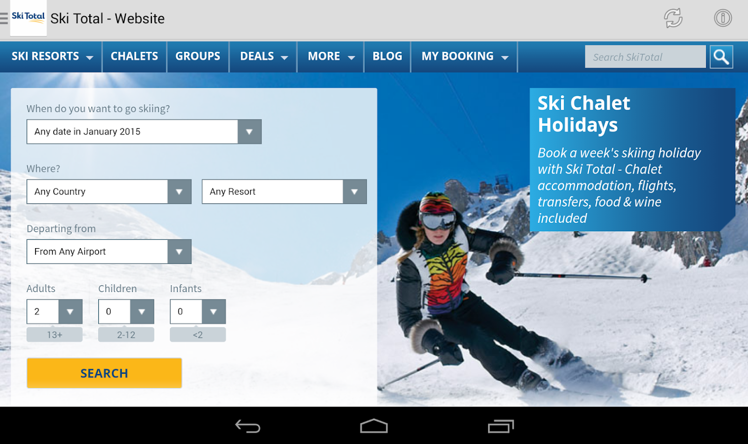 Ski Total- screenshot