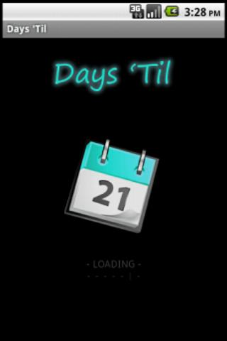Days 'Til- screenshot