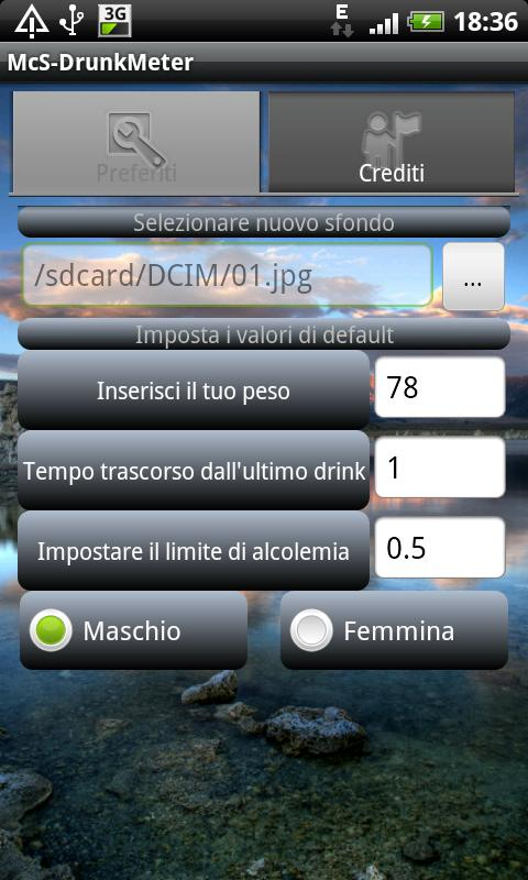 McS DrunkMeter - screenshot