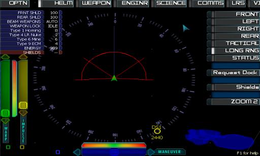 Artemis Spaceship Bridge Sim