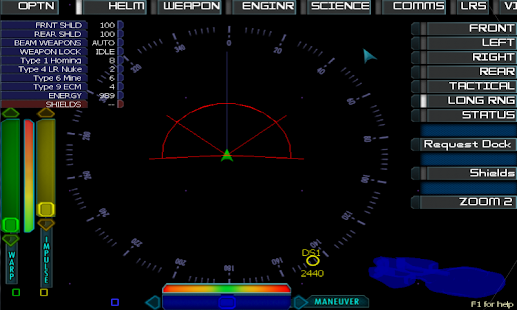Artemis Spaceship Bridge Sim Screenshot 1