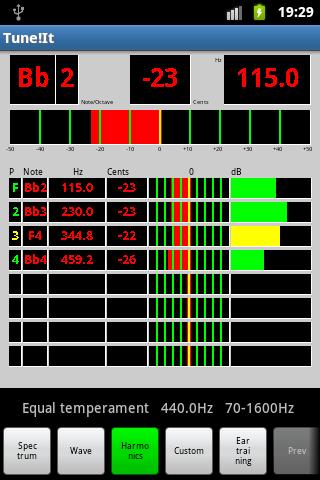 Tune!It- screenshot