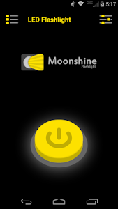Moonshine Flashlight screenshot 1