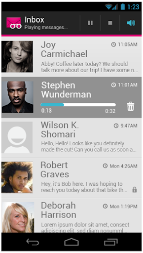 Screenshot for T-Mobile Visual Voicemail in United States Play Store