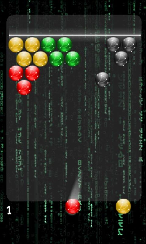 Matrix Bubble - screenshot