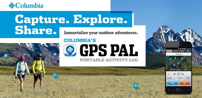 Columbia's GPS PAL™ 1.0.2