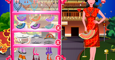Screenshot of Chinese New Year Makeover