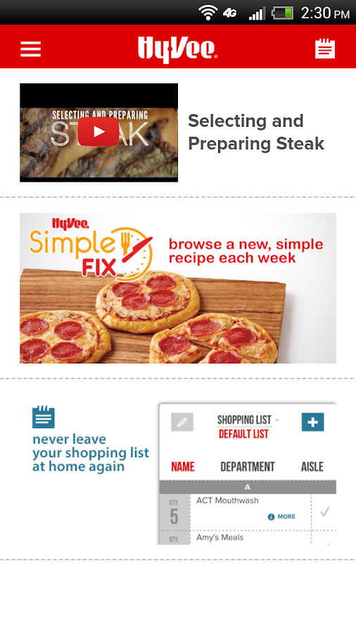 Hy-Vee - screenshot