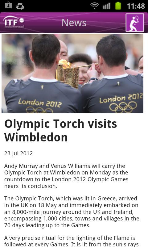 Olympic Tennis 2012 - screenshot