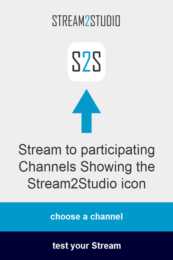 Stream2Studio- screenshot